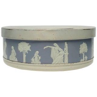 Neclassical Round Box For Sale
