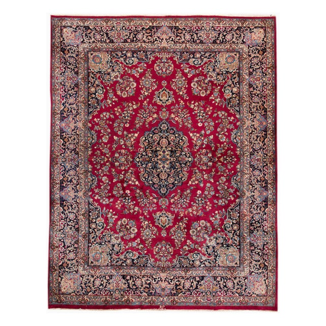 "Apadana Persian Rug - 9'7"" X 12'3"" - Image 1 of 6"