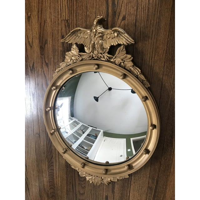 Vintage Convex Federal Mirror For Sale - Image 4 of 8