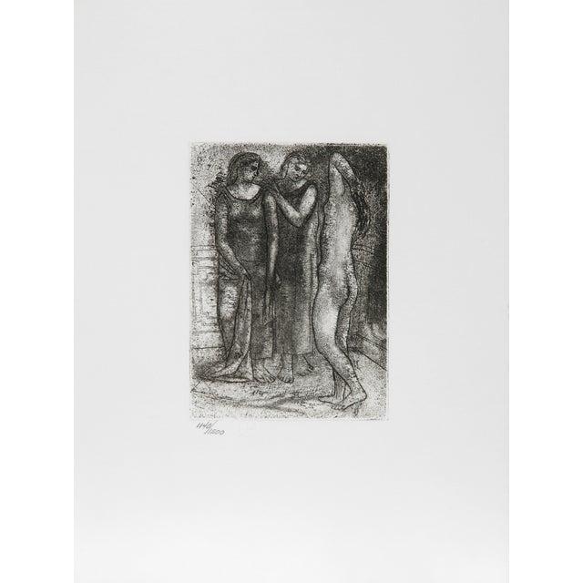 Pablo Picasso, Trois Femmes, Restrike Etching For Sale