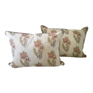 Tulu Textiles Lumbar Pillows - A Pair