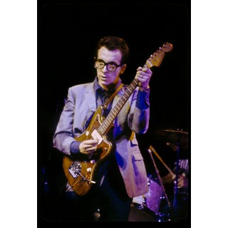 Original Giclee Photograph of Elvis Costello For Sale