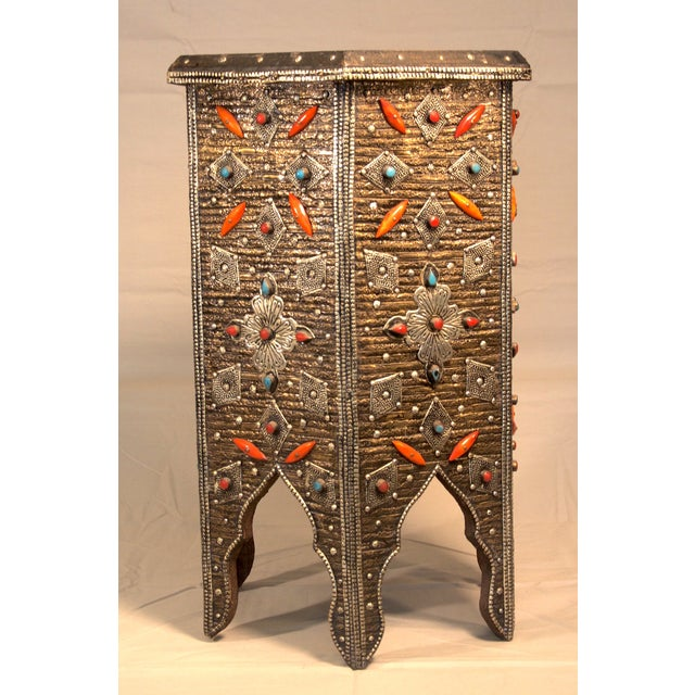 Moroccan Star Shaped Table - Image 2 of 3