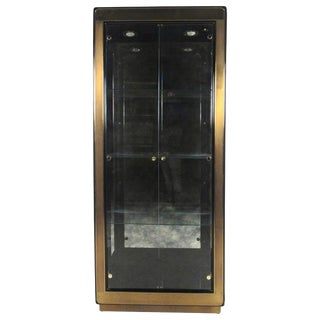 Mid-Century Mastercraft Display Cabinet For Sale