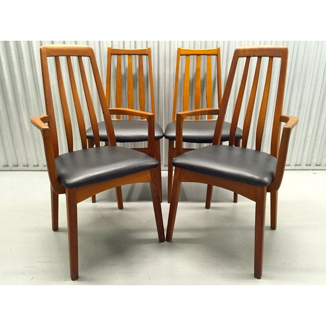 Svegards Marka Teak Dining Chairs - Set of 4 - Image 2 of 11