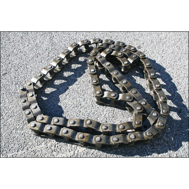 Vintage Industrial Roller Coaster Chain from Hershey Park - Image 2 of 11