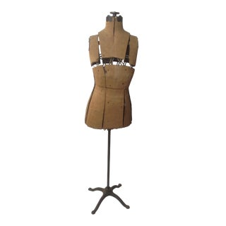 Early 20th Century Dress Form on Stand