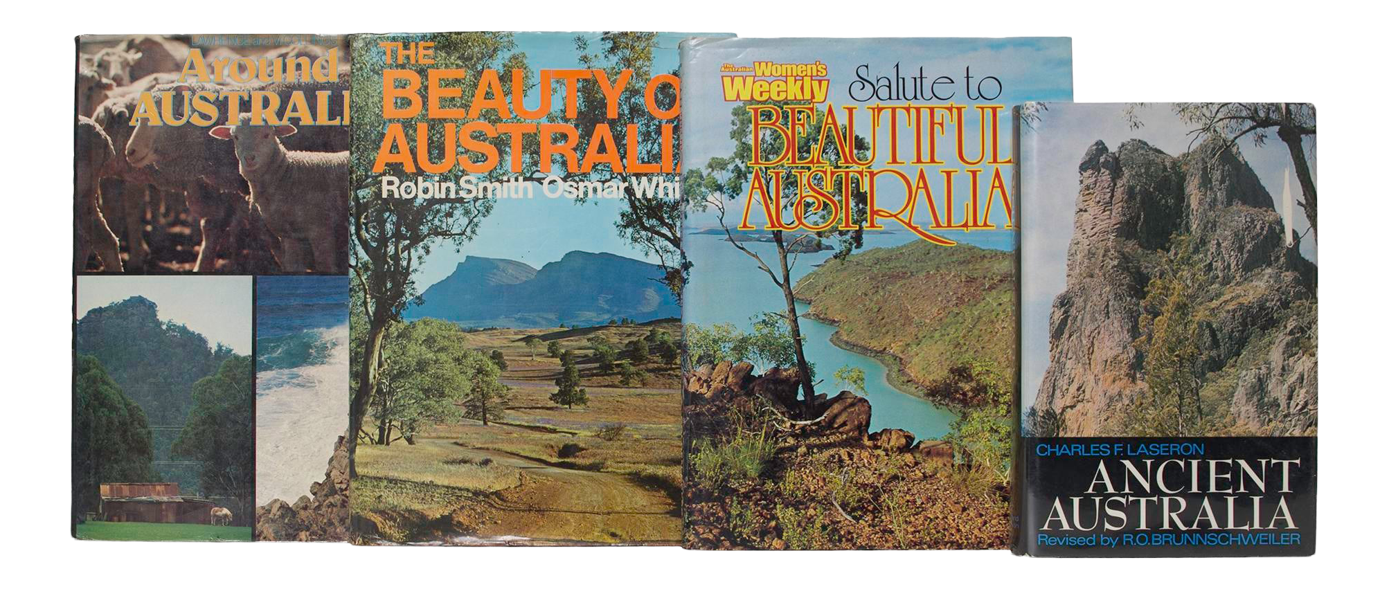 Vintage Down Under In Australia Coffee Table Books Set Of 4 Chairish