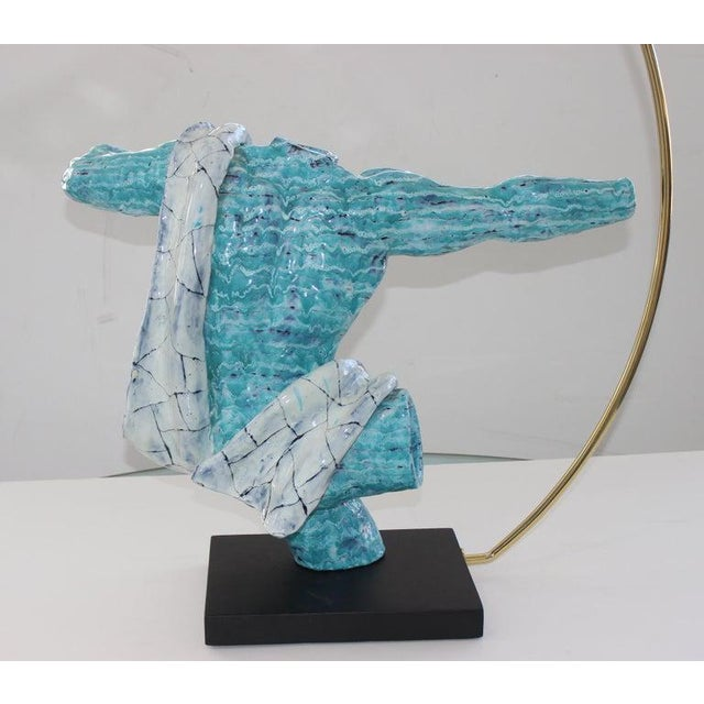 "Mid-Century Modern ""Archer"" Sculpture by San Palo For Sale In West Palm - Image 6 of 13"