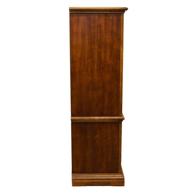 """20th Century Italian American of Martinsville 40"""" Door Chest/Armoire For Sale - Image 12 of 13"""