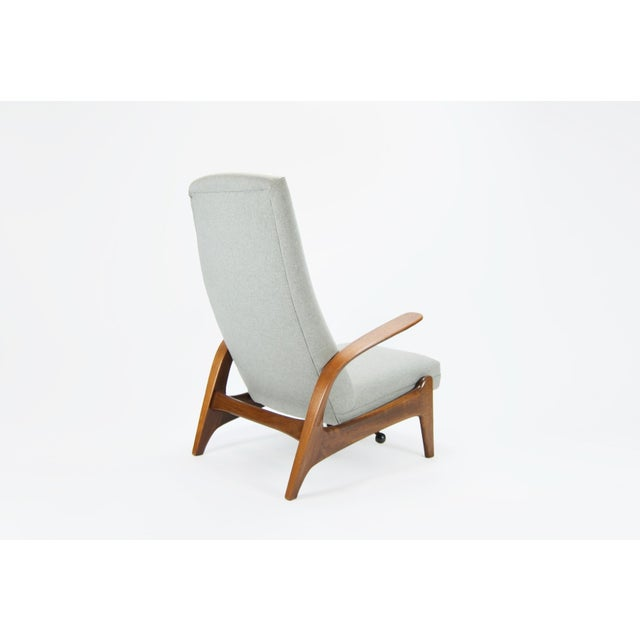 """Gimson and Slater Ltd Adolf Relling and Rolf Rastad """"Rock N Rest"""" Armchairs - a Pair For Sale - Image 4 of 9"""