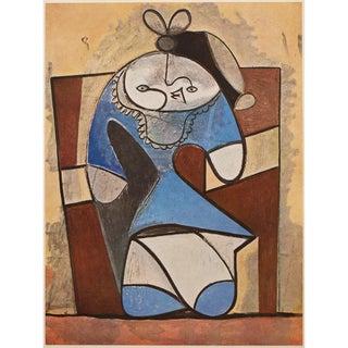 1947 Picasso, Original Period Large La Fille De La Concierge Lithograph For Sale