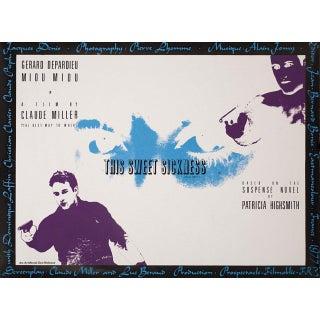 This Sweet Sickness 1977 British Quad Film Poster For Sale