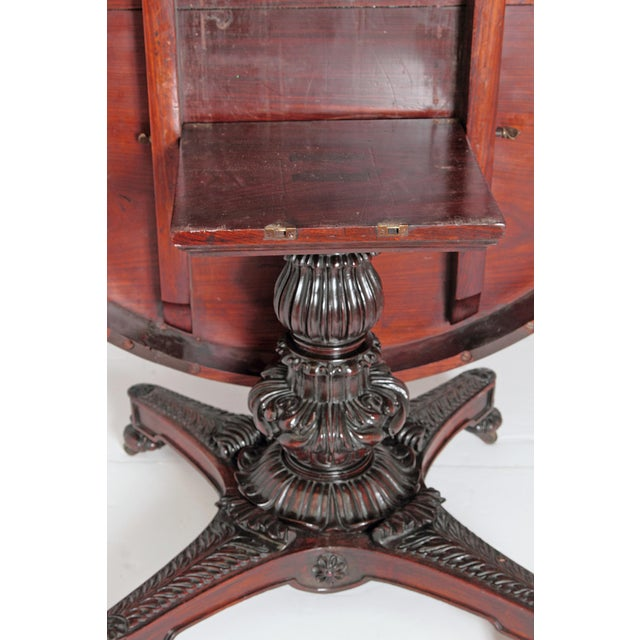 Anglo-Indian Tilt-Top / Centre Table of Mahogany For Sale - Image 11 of 13