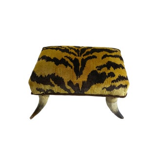 Petite Le Tigre Horn Stool For Sale
