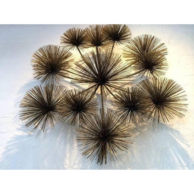 "Large Signed ""Pom Pom"" Wall Sculpture by Curtis Jere - Image 7 of 8"
