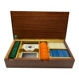 1940s Tiffany and Co. Poker Set For Sale