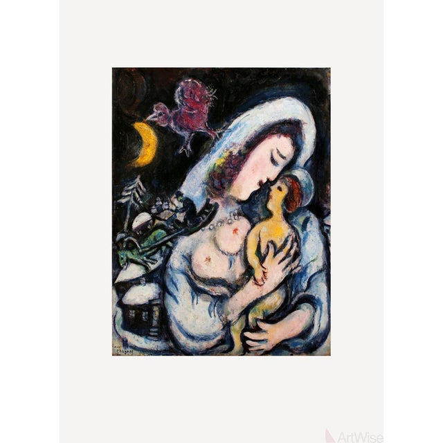 Marc Chagall, Motherhood, Poster For Sale