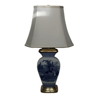"Spode ""Blue Room Collection"" Zoological Table Lamp"