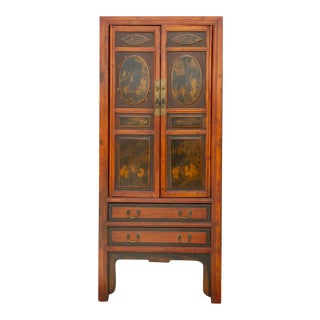 Antique Chinoserie Cabinet For Sale