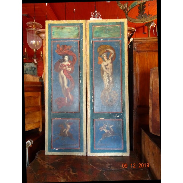 Pair of 19th Century Italian Architectural Panels For Sale - Image 13 of 13