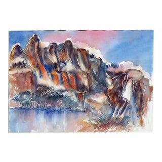 Young Lake Below Ragged Peak Yosemite For Sale