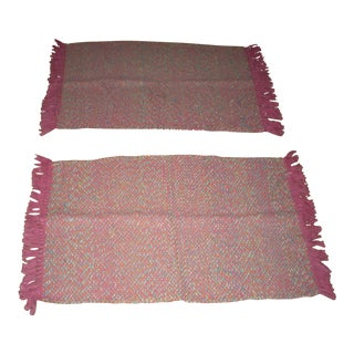 Amish Handmade Floor Rugs - A Pair