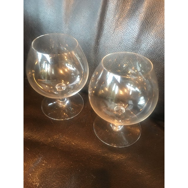 """1990s Baccarat """"Perfection"""" Brandy Snifters - a Pair For Sale - Image 5 of 5"""