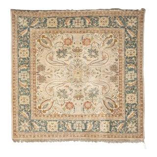 Antique Egyptian Handmade Ushak Carpet Rug For Sale