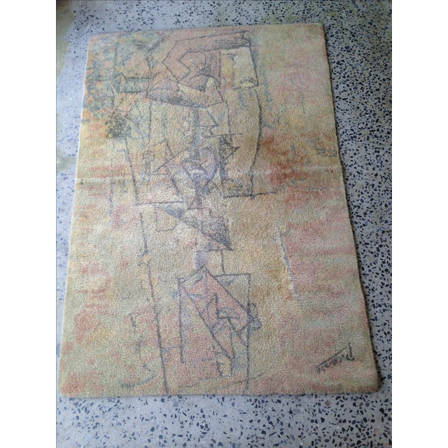 Vintage Picasso Rug By Ege Of Scandinavia- 4' X 6'