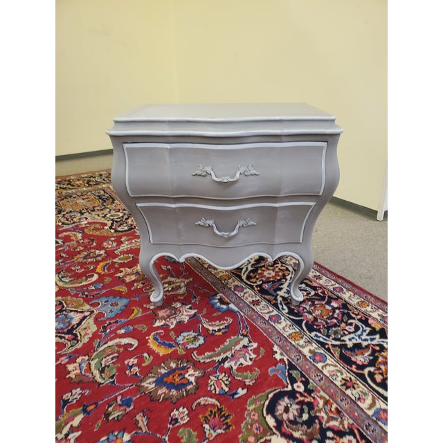Union National Painted Nightstand For Sale In Houston - Image 6 of 13