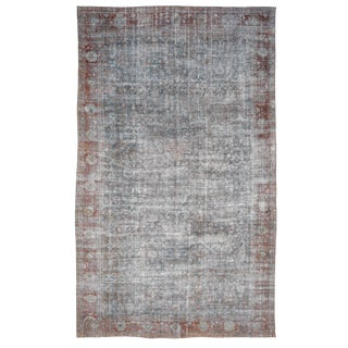 """Early 20th Century Antique Mahal Rug-10′ × 17"""" For Sale"""