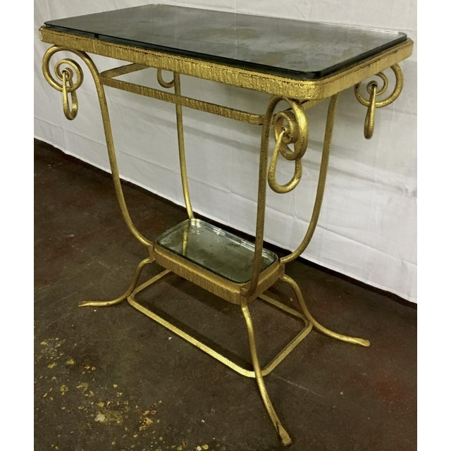 1920s Sue Et Mare Refined Pair of 2 Tier Console For Sale - Image 5 of 8