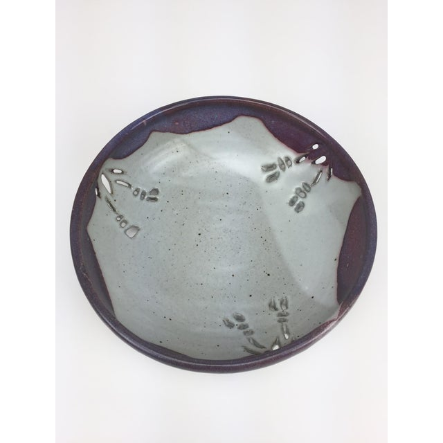 Studio Pierced Stoneware Fruit Bowl - Image 5 of 9