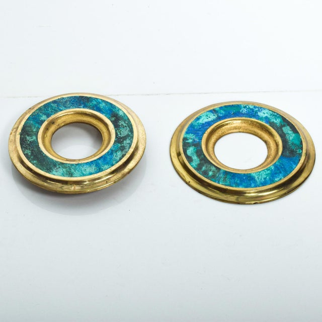 1950s Mid Century Modern Door Ring Pulls by Pepe Mendoza Mexican Modernist For Sale - Image 5 of 9