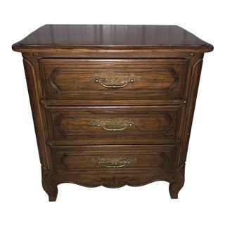 Vintage Davis Cabinet Company Bedside Chest For Sale