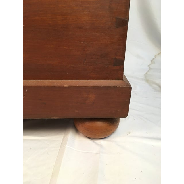 Wood 19th Century Early American Blanket Chest For Sale - Image 7 of 9
