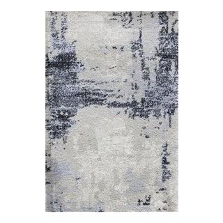 """Abstract Art Brown Runner - 2'8"""" x 5'"""