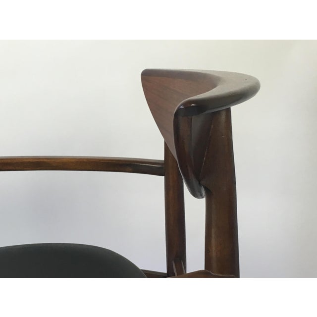 Black Lane Perception Modernist Armchairs - A Pair For Sale - Image 8 of 9