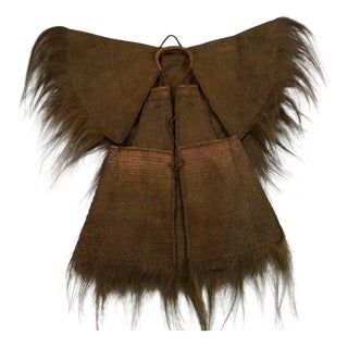 Antique Asian Rain Cape For Sale