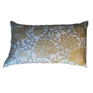 Venetian Linen Pillow For Sale