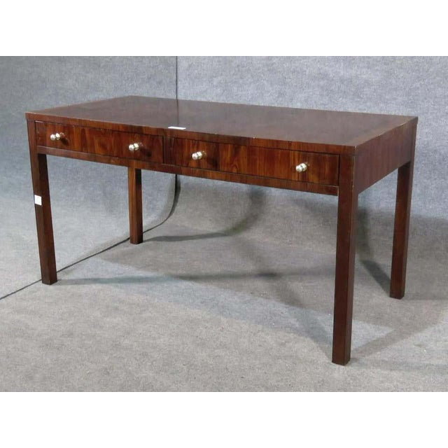 Rosewood Desk by Thomas O'Brien For Sale In New York - Image 6 of 6