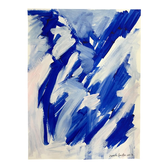 "Jessalin Beutler ""No. 23"" Acrylic Painting - Image 1 of 6"