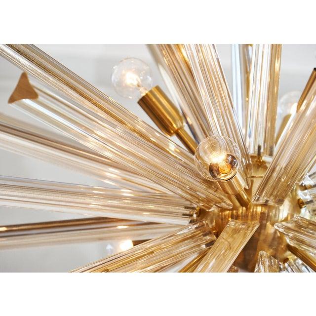 Customizable Italian Murano Glass Sputnik Chandelier For Sale - Image 4 of 9