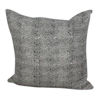 Tree Ring Hand Block Printed Pillow