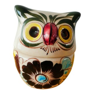 Ceramic Owl Jar
