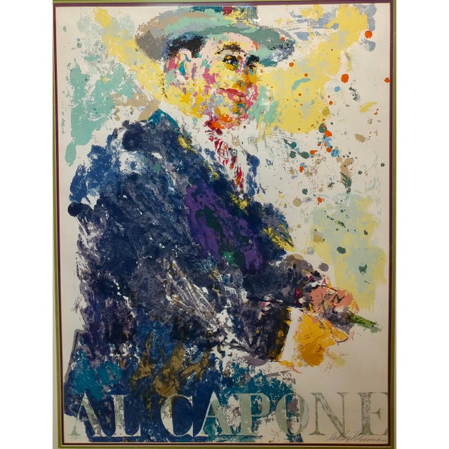 Leroy Neiman -Al Capone-Limited Edition Serigraph-Pencil Signed - Image 2 of 10