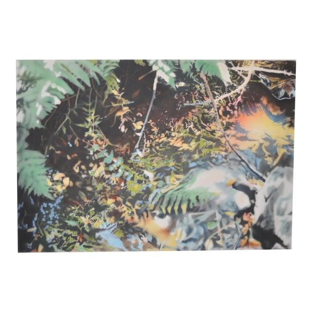 """David T. Kessler """"Reflected Overhang"""" Lithograph For Sale"""