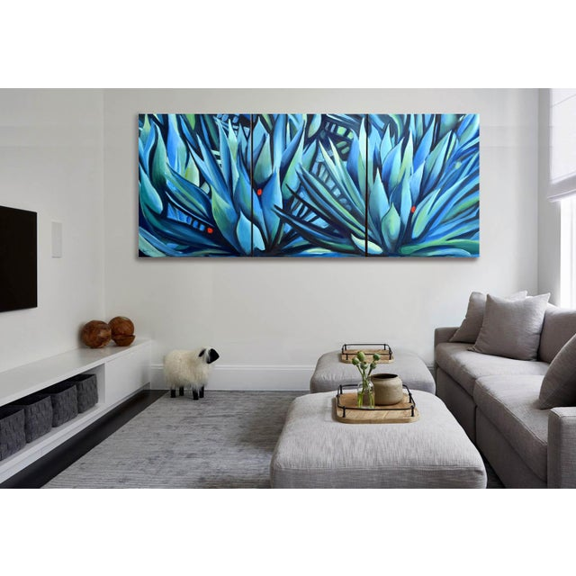 'Song of Dark Leaves' Oil Painting (Featured) For Sale - Image 6 of 9