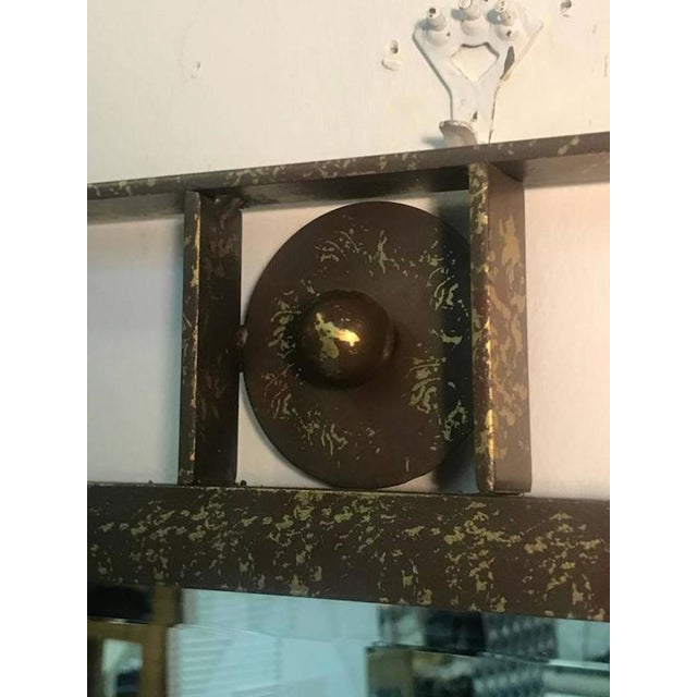 A gorgeous carvers guild wall mirror designed by Carol Canner, and in the manner of Jean Royere, 1979. Good vintage...